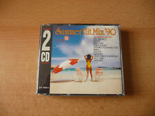 Doppel CD Summer Hit Mix `90: Sandra Bizz Nizz Jam Tronik Ice MC Leila K MC Sar