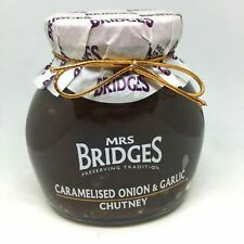 Luxury Mrs Bridges Onion & Garlic Chutney 300g - Product of Scotland
