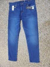 Banana Republic SKINNY Fit Men's Rapid Movement Jeans Warrior Blue 34 X 32