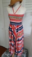 Philosophy Printed Woven Dress Sz Small NWT Spring Summer MSRP $78.00