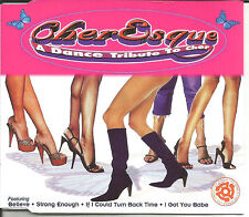 CHERESQUE Cher Esque Tribute 8TRX w/ ACAPPELLA TRX USA CD single SEALED  1999