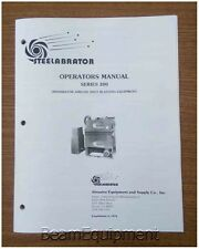 Steelabrator Series 200 Operators Manual / Shot Blaster