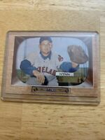 1955 Bowman Early Wynn Cleveland Indians #38 indians