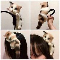 Women's Cute Cat Kitty Kitten Headband Hair Band Cosplay Party Hair Accessories