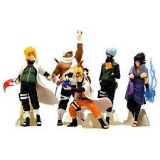 Anime Naruto Set 5 pcs Figures Collection Kakashi Uzumaki Sasuke Model Dolls
