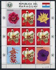 PARAGUAY 1983 Blumen Flowers 3665 Kleinbogen ** MNH