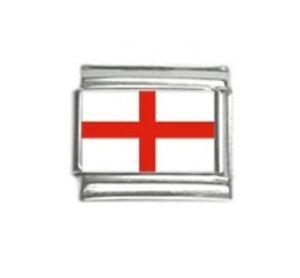 Italian Charms Charm Flags England English Flag