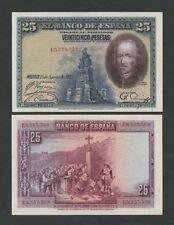 España - 25 pesetas 1928 P74 buen extremadamente fino (billetes)