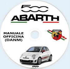 ABARTH 500 1.4 16v T-Jet.MANUALE OFFICINA (ITA)