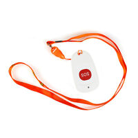 Wireless ASK SOS Call Bell Emergency Button for Hospital Patient Elderly &sling