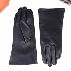 New Men's Real Leather Customizable motocycle Winter Warm  GAUNTLET long Gloves