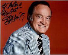 Bob Hope 20x25cm Für Christine original signiert RAR TOP GF 757 UH