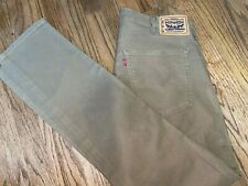 Men's Levi's Workwear 505 Regular Fit Straight Leg Jeans Size 36 x 36 Khaki
