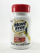 Schiff Move Free Joint Health Ultra Triple Action 75Coated Tablets FREE SHIPPING