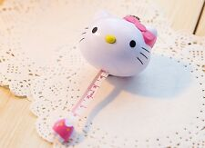 Hello Kitty Cat Sewing Measurement Retractable Tailor Crafts Ruler Tape Measures