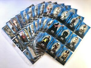Star Wars: The rise of Skywalker S1 BLUE Complete trading card set 2019 Topps