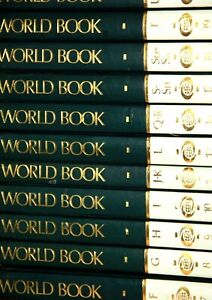 The World Book Encyclopaedia 1990 World Book 24 books full set complete set