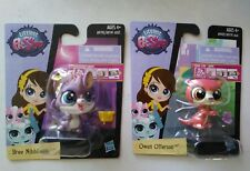 ❤ ❤❤ Littlest Pet Shop Get The Pets Single Packs~ Bree Nibbleson & Owen Otterson