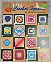 101 Crochet Squares by American School of Needlework #1216