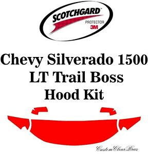 3M Scotchgard Paint Protection Film 2019 2020 Chevy Silverado 1500 LT Trail Boss