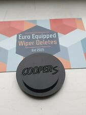 Cooper S engraved Wiper Delete Bung Dewiper Blank Mini R50 R53 Jcw GP 02-06