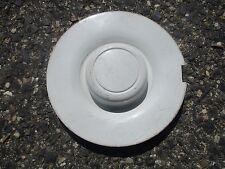 one 1993 to 1995 Dodge Caravan Voyager alloy wheel center cap hubcap white