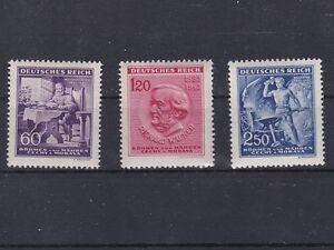 1943 Geburtstag Richard Wagner Postfrisch ** MNH 128 - 130