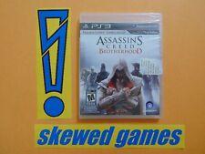 Assassins Creed Brotherhood - New Sealed - PS3 PlayStation 3 Sony