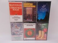 Christmas Cassette. Lot of 6 Tapes- Various Artists - Frank Sinatra, Mantovani
