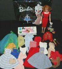 Vintage Doll Large Lot Barbie Shoes Mules Fashions Suzy Goose Case Mattel 1960s