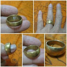 Brass Ring 1989 LP Doo Size 11 LP Doo Thai Amulet Sacred Talisman Charm H370-P3