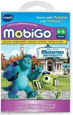 Vtech Mobigo Disney Pixar Monsters University Touch Learning System Software