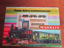 CATALOGUE DEBUTANT MARKLIN 1968 / 69  TRAIN HO