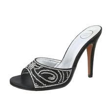 30-39 Damenschuhe mit Pfennig -/Stilettoabsatz-Pantoletten Größe