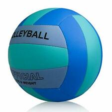 Professional Size 5 Volleyball PECOGO PU Leather Soft Indoor Outdoor Volleyba...