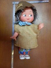 vecchia bambola gomma plastica FIBA Made in Italy A230 27 cm tipo FRUGOLINI di