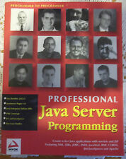 Java Server Programming by Hans Bergsten, Danny Ayers and Jason Diamond...