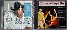 Southern Voice by Tim McGraw (CD, Oct-2009, Curb) & Country Pop Hits by Var.Art