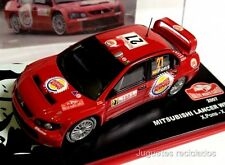 MITSUBISHI LANCER WR05 PONS  RALLY MONTECARLO coche a escala 1/43 maqueta metal