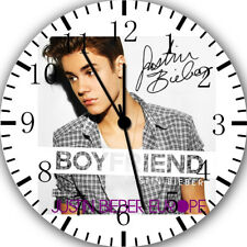 Justin Bieber Frameless Borderless Wall Clock Nice For Gifts or Decor W456