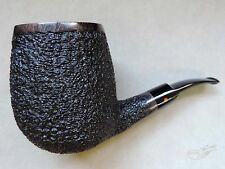 Moretti Pipe Fantastic Huge Super Magnum Black Rusticated Freehand