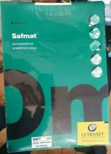 LETRASET SAFMAT A3 GLOSS REMOVABLE Pack of 25(SELF ADHESIVE FILM)