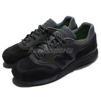 New Balance ML997HJT D Black Grey Men Running Shoes Sneakers Trainers ML997HJTD