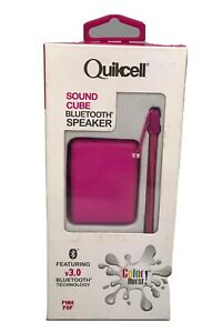 Quikcell Bluetooth Wireless Speaker for Apple & Android - Retail Packaging - Ink