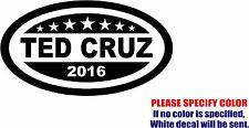"Ted Cruz For President Decal Sticker JDM Funny Vinyl Car Window Bumper Laptop 7"""