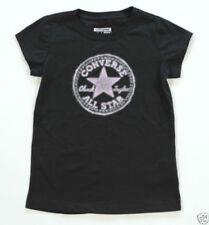 Camisetas y tops de niña de 2 a 16 años de manga corta negro