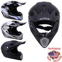 3 Style DOT Adult Motorcycle Motocross Off-Road ATV Dirt Bike Snowmobile Helmet