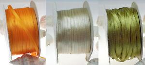 10m Satinband 4mm breit doppelseitig (0,10€/m)