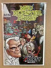Mad Monster Party #1 8.5 VF+ Black Bear Press Rare Scarce Boris Karloff One Shot