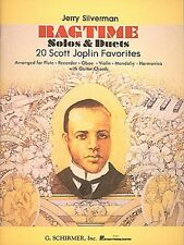 Joplin Ragtime Solos and Duets C Instruments Woodwind NEW 050462620